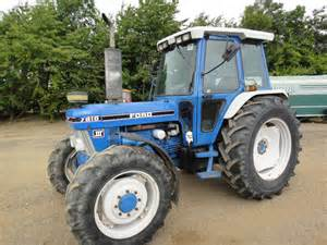 tracteur Ford 7530
