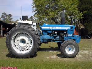 tracteur Ford 7600