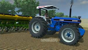 tracteur Ford 8030