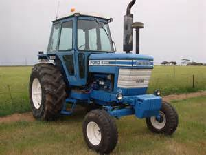 tracteur Ford 8700