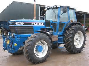 tracteur Ford 8730