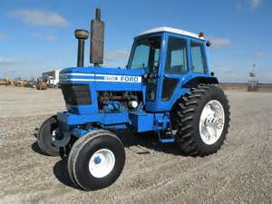 tracteur Ford 9700