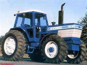 tracteur Ford TW-35