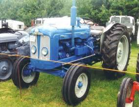 tracteur Fordson SUPER MAJOR