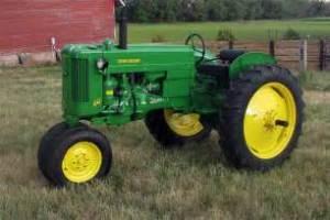 tracteur John Deere 40