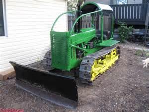 tracteur John Deere 420C