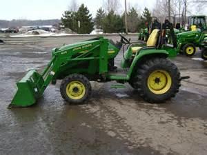 tracteur John Deere 4310