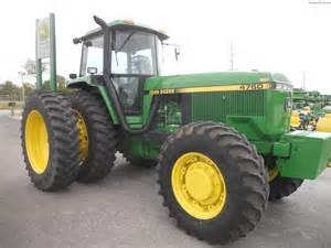 tracteur John Deere 4760