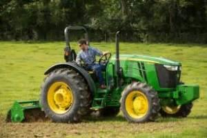 tracteur John Deere 5075M