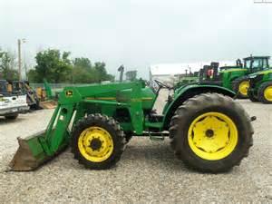 tracteur John Deere 5400_second_modele