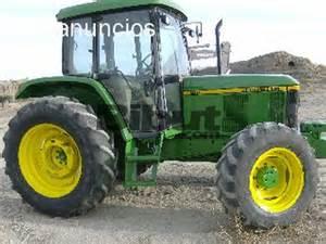 tracteur John Deere 6110