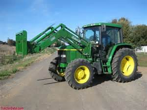 tracteur John Deere 6210