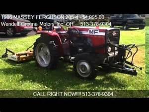 tracteur Massey Ferguson 205