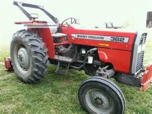 tracteur Massey Ferguson 362