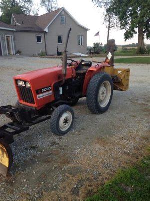 tracteur Allischalmers 5020