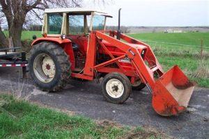 tracteur Allischalmers 5050