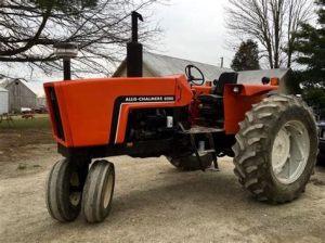 tracteur Allischalmers 6080