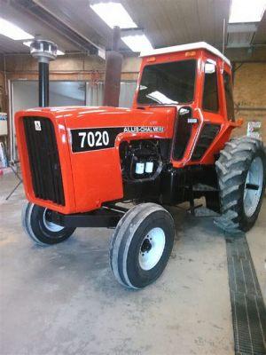tracteur Allischalmers 7020