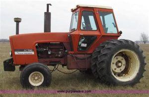 tracteur Allischalmers 7040