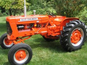 tracteur Allischalmers CA