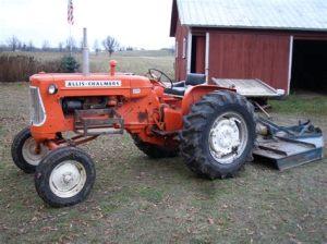 tracteur Allischalmers D15
