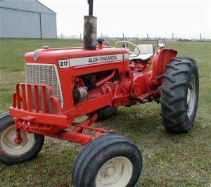 tracteur Allischalmers D17