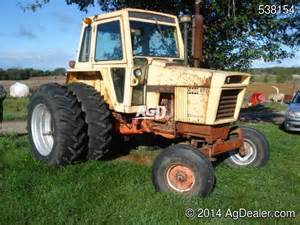 tracteur Case 870
