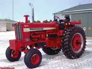 tracteur IH 1026