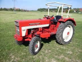 tracteur IH 353