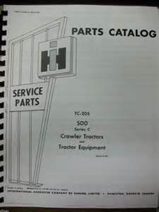 tracteur IH 500C