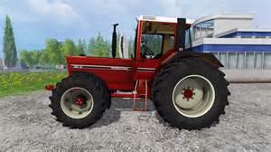 tracteur IH DED