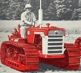tracteur IH TD-5