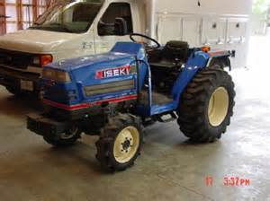 tracteur Iseki TA207