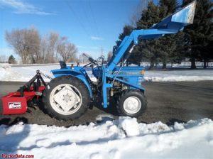tracteur Iseki TS1910