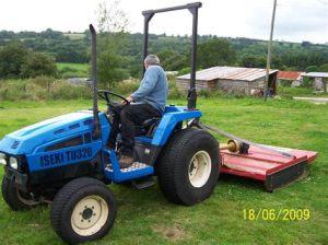 tracteur Iseki TU320