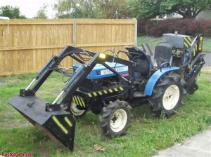 tracteur Iseki TX1300