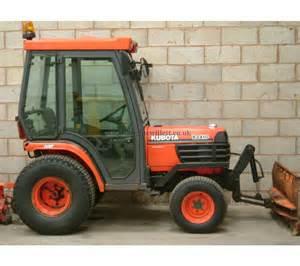 tracteur Kubota B2410