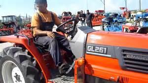 tracteur Kubota GL261