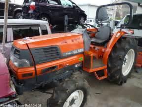 tracteur Kubota GL320