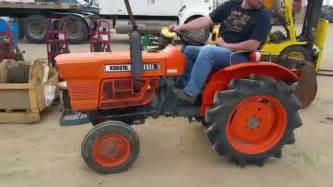 tracteur Kubota L175
