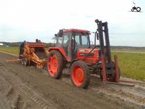 tracteur Kubota M7580
