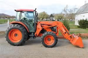 tracteur Kubota M9540