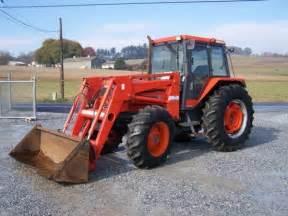 tracteur Kubota M9580