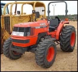 tracteur Kubota MX5000