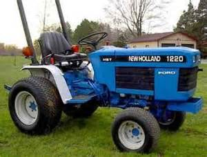 tracteur New Holland 1220