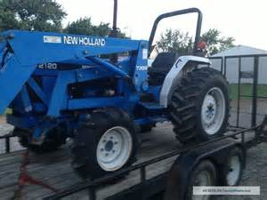 tracteur New Holland 2120