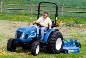 tracteur New Holland BOOMER 30