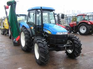tracteur New Holland TD5040