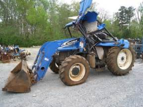 tracteur New Holland TL100