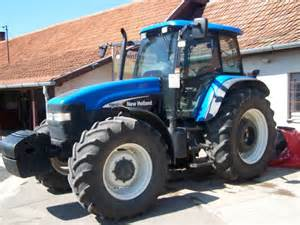 tracteur New Holland TM140